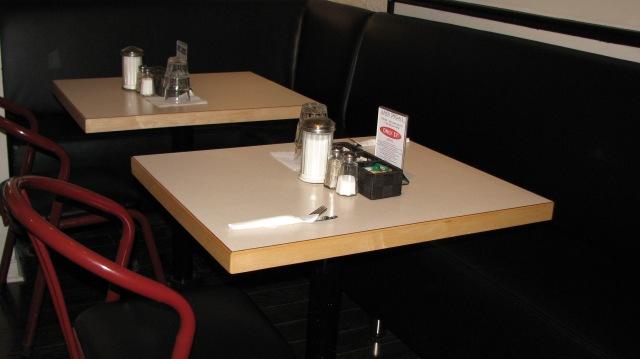 Custom Restaurant Style Table