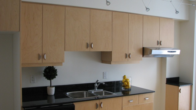 Custom Cabinets Natural Maple